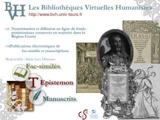 Les Bibliothèques Virtuelles Humanistes