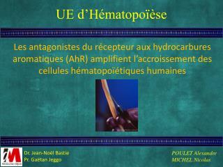 UE d'Hématopoïèse