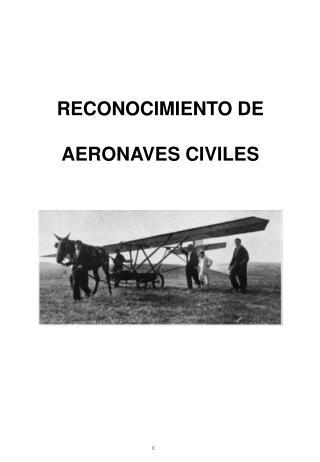 RECONOCIMIENTO DE AERONAVES CIVILES