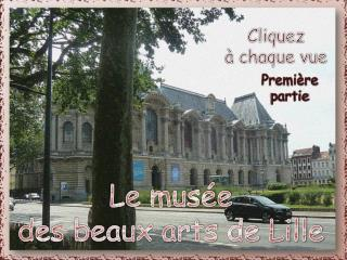 Le musée  des beaux arts de Lille