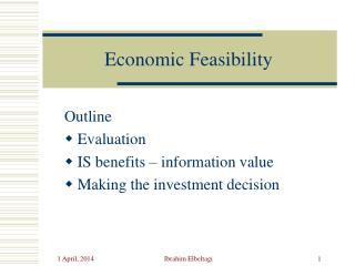 Economic Feasibility