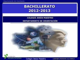 BACHILLERATO 2012-2013