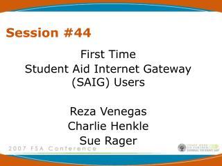 Session 44