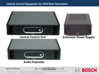 Central Control Equipment for DCN Next Generation