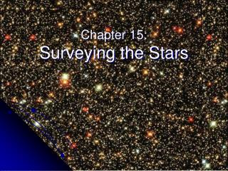 Chapter 15: Surveying the Stars