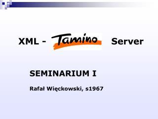 XML -