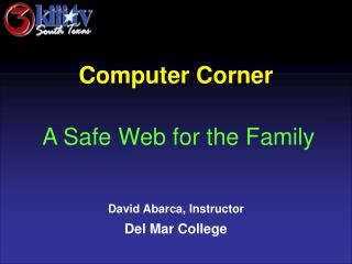 David Abarca, Instructor Del Mar College