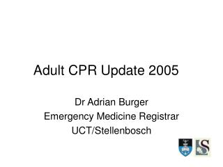 Adult CPR Update 2005