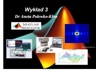 Wykład 3 Dr Aneta Polewko-Klim