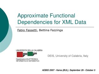 Approximate Functional Dependencies for XML Data
