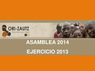 ASAMBLEA 2013