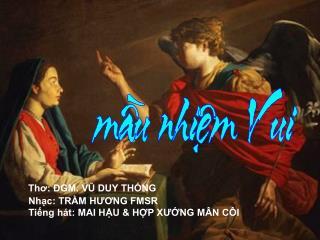 Xin Mẹ dạy con: Cũng biết nói lời XIN VÂNG.