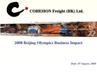 COHESION Freight (HK) Ltd.