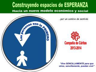 Hacia un nuevo modelo económico y social