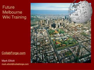 Future Melbourne  Wiki Training