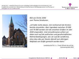 Bild von Kirche 2030 zum Thema Strukturen: