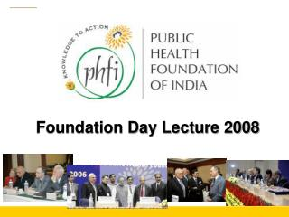 Foundation Day Lecture 2008