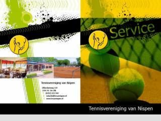 TV van Nispen De gezelligste tennisvereniging van de bollenstreek !