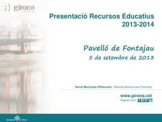 Servei Municipal d'Educació  - Àrea de Serveis a les Persones