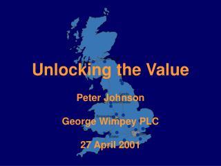 Unlocking the Value