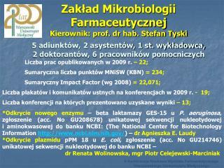 II Konferencja Naukowa Wydziału Farmaceutycznego Warszawskiego Uniwersytetu Medycznego
