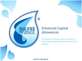 Enhanced Capital Allowances