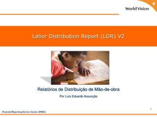 Relatórios de Distribuição de Mão-de-obra