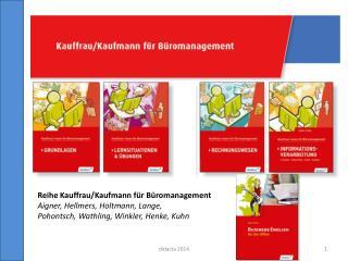Reihe Kauffrau/Kaufmann  f�r B�romanagement