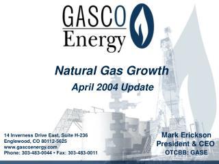 April 2004 Update