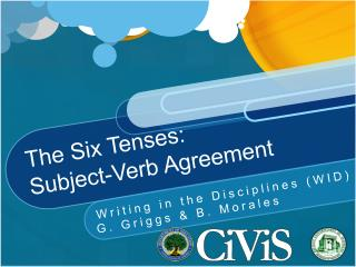 The Six Tenses: Subject-Verb Agreement