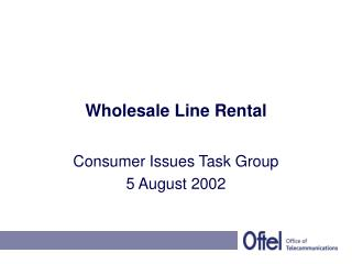 Wholesale Line Rental