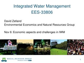 Integrated Water Management  EES-33806