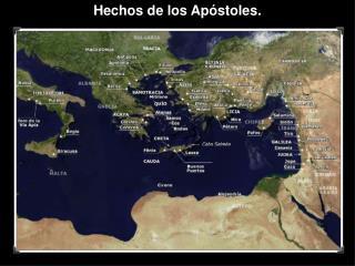 Hechos de los Apóstoles.