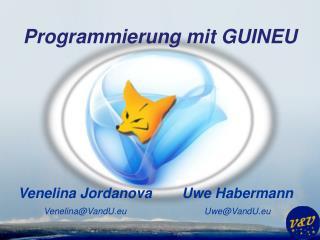 Programmierung mit GUINEU
