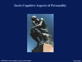Socio-Cognitive Aspects of Personality