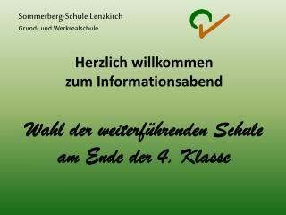 Sommerberg-Schule Lenzkirch Grund- und Werkrealschule