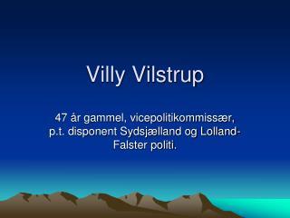 Villy Vilstrup