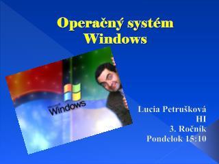 Operačný systém Windows