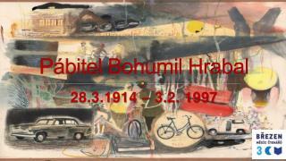 P�bitel Bohumil Hrabal