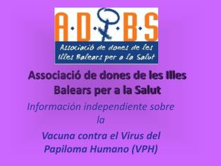 Associació de dones de les Illes Balears per a la Salut