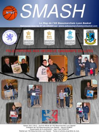 Saison 2011-2012 - Journal officiel de l'AS Beaumarchais Lyon Basket