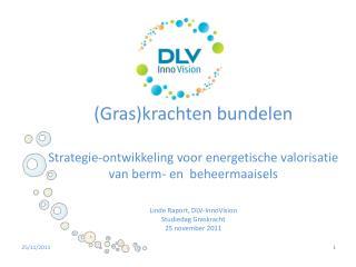 Bedrijfsvoorstelling - DLV InnoVision