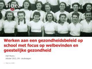 Werken aan een gezondheidsbeleid op school met focus op welbevinden en geestelijke gezondheid