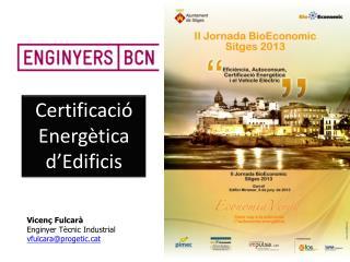 Certificació Energètica d'Edificis