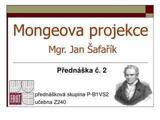 Mongeova projekce
