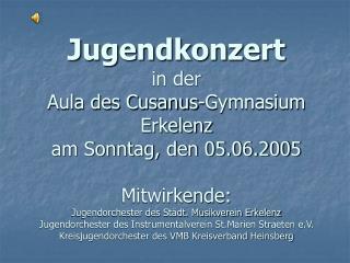 Jugendorchester  des Städt. Musikverein Erkelenz