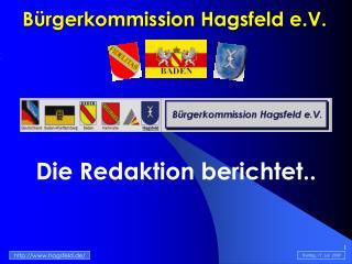 Bürgerkommission Hagsfeld e.V.