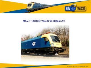 MÁV-TRAKCIÓ Vasúti Vontatási Zrt.