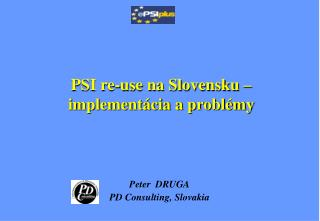 PSI re-use na Slovensku � implement�cia a probl�my