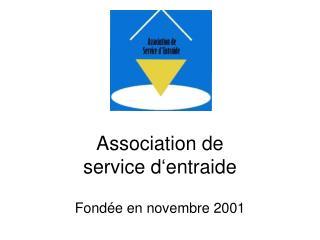 Association de service d'entraide